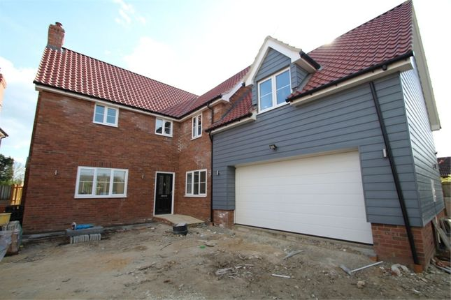 Thumbnail Detached house for sale in Russet Close, Finningham, Stowmarket, Suffolk