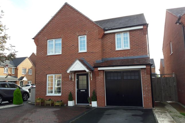 Thumbnail Detached house for sale in Brackley Crescent, Warwick