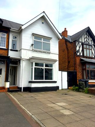 Thumbnail Semi-detached house to rent in Warwick Road, Birmingham