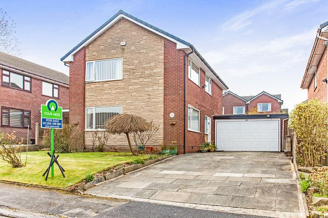 Thumbnail Detached house for sale in Marnland Grove, Ladybridge, Bolton