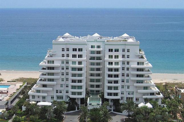 Thumbnail Town house for sale in 2494 S Ocean Boulevard, Boca Raton, Florida, United States Of America