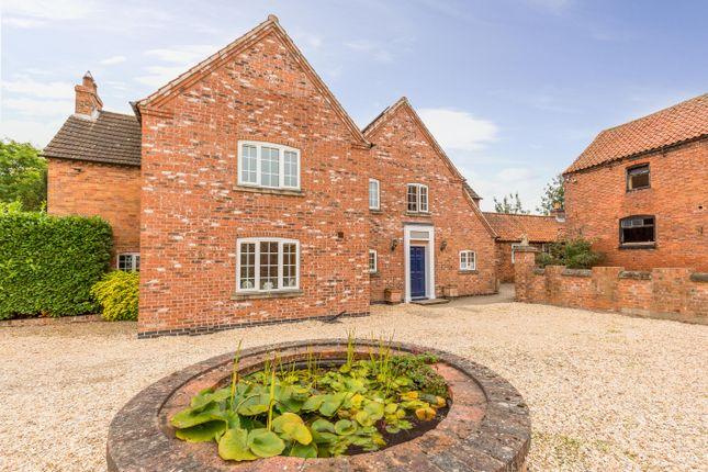 Thumbnail Detached house for sale in College Farm House, Main Street, West Markham, Newark, Nottinghamshire