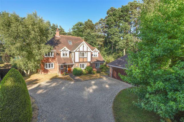 Thumbnail Detached house for sale in Sandhurst Road, Finchampstead, Wokingham, Berkshire