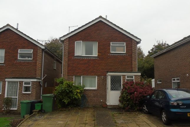 Thumbnail Detached house for sale in Swanley Close, Eastbourne