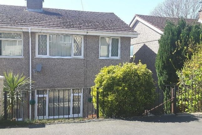 Thumbnail Town house to rent in Meadow Road, Blackwood