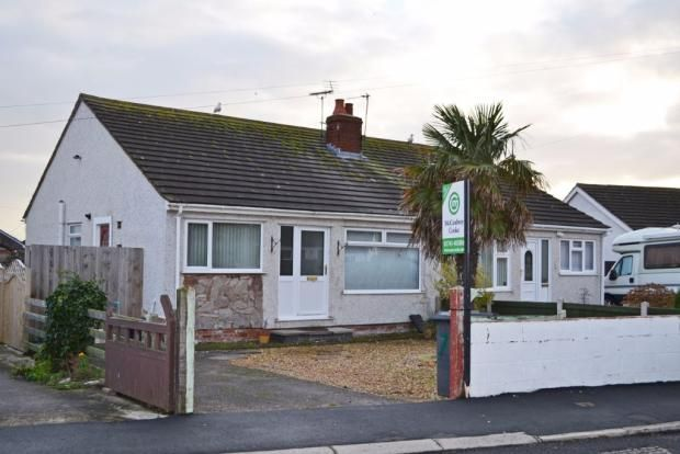 Thumbnail Semi-detached bungalow to rent in Pen Lan, Towyn