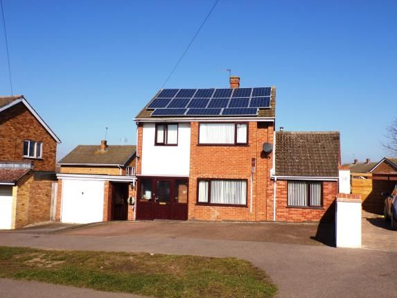 Thumbnail Property for sale in Homestead Drive, Wigston, Leicester, Leicestershire