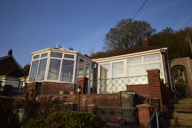 Thumbnail Detached bungalow for sale in Leigh Road, Pontnewynydd, Pontypool