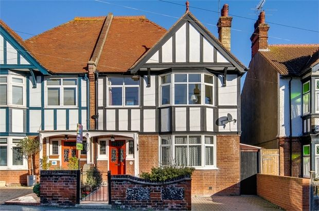 Thumbnail Semi-detached house for sale in St. Georges Road, Broadstairs