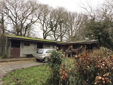 Thumbnail Land for sale in Stables & Land Off Crapstone Road, Crapstone, Yelverton, Devon