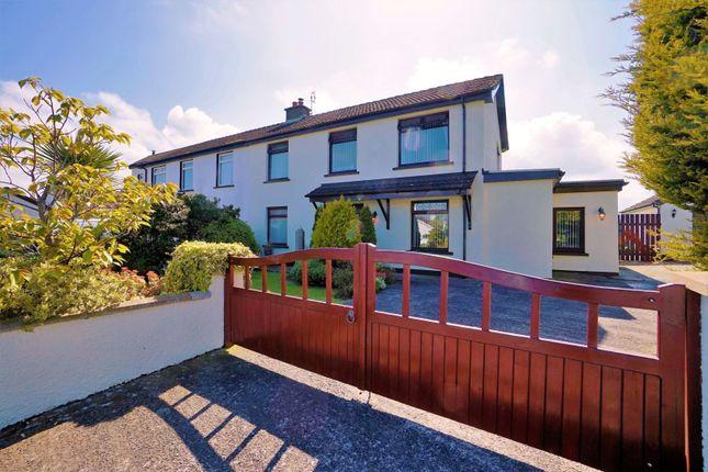 Thumbnail Semi-detached house for sale in Carmichael Park, Millisle