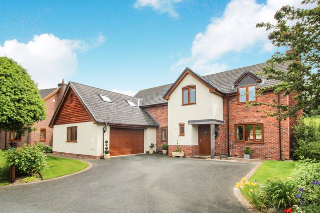 Thumbnail Detached house for sale in Groes Close, Guilsfield