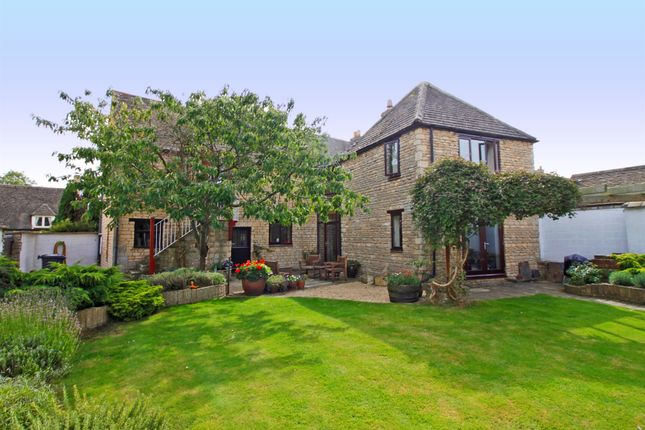 Thumbnail Barn conversion for sale in Main Street, Ufford, Stamford