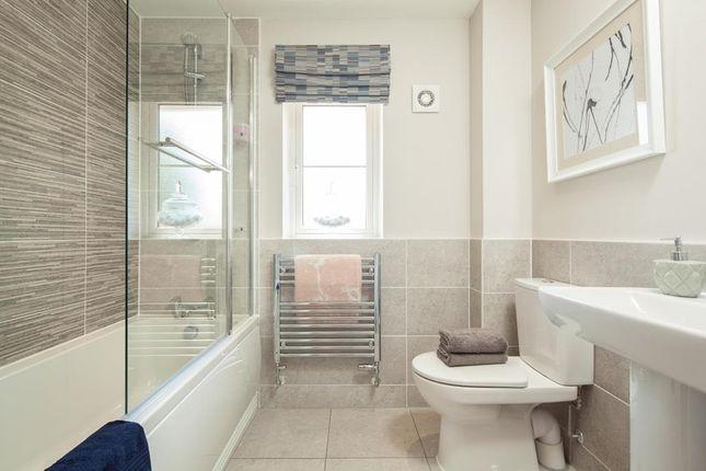 "Bathroom of ""Chesham"" at ""Chesham"" At Rykneld Road, Littleover, Derby DE23"