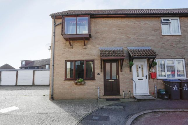 Thumbnail End terrace house for sale in Church Meadow, Sholden, Deal