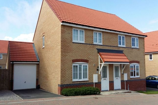 3 bed semi-detached house for sale in Wagtail Crescent, Whitby