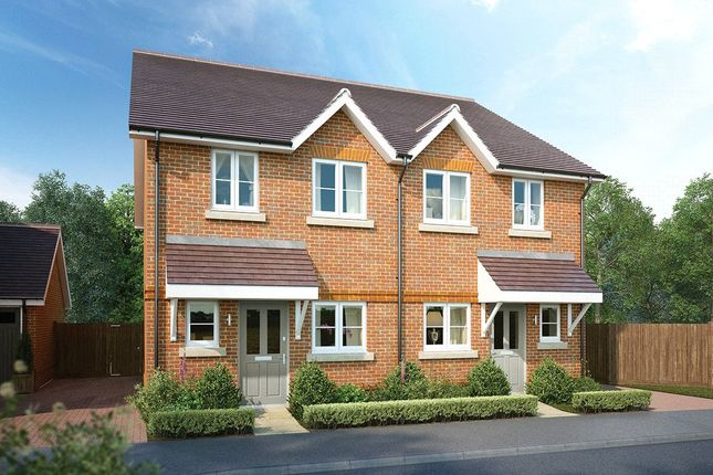 Thumbnail End terrace house for sale in West End, Woking, Surrey