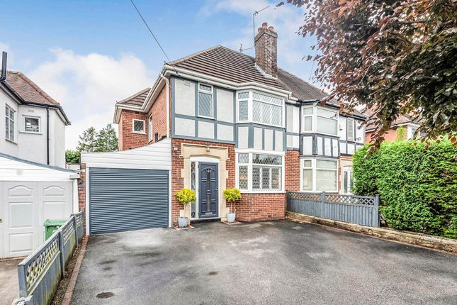 Thumbnail Semi-detached house for sale in King Charles Road, Halesowen
