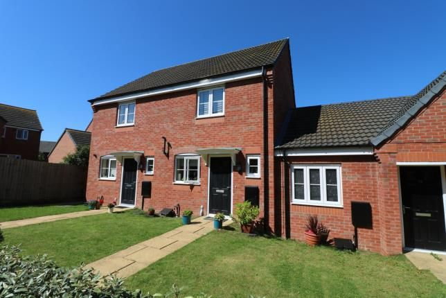 Semi-detached house for sale in Monk Close, Market Harborough, Leicestershire