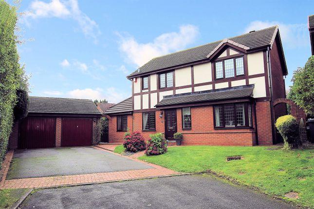 Thumbnail Detached house for sale in Jones Wood Close, Sutton Coldfield