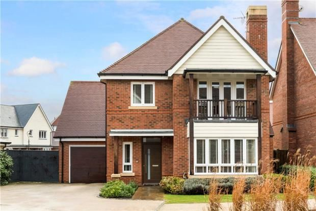 Thumbnail Detached house for sale in Pennyroyal, Fleet, Hampshire