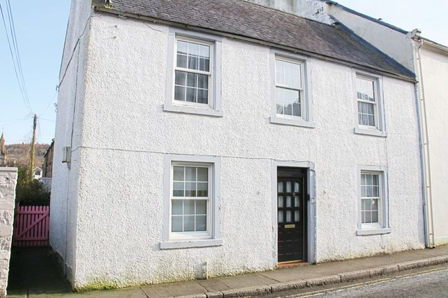 Thumbnail End terrace house for sale in High Street, Kirkcudbright