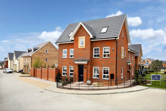 "Thumbnail Detached house for sale in ""Hexham"" at Carters Lane, Kiln Farm, Milton Keynes"