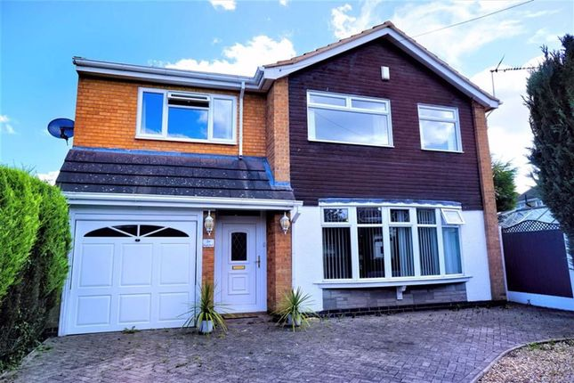 Thumbnail Detached house for sale in Cowper Road, Burbage, Hinckley
