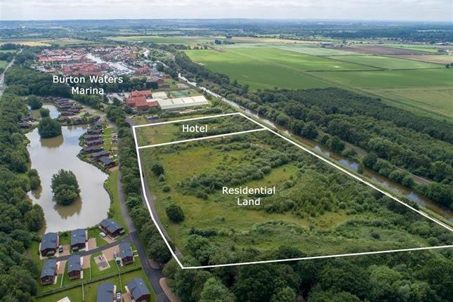 Thumbnail Land for sale in Burton Waters, Lincoln