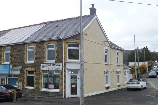 Thumbnail End terrace house for sale in Church Road, Gorslas, Llanelli, Carmarthenshire.