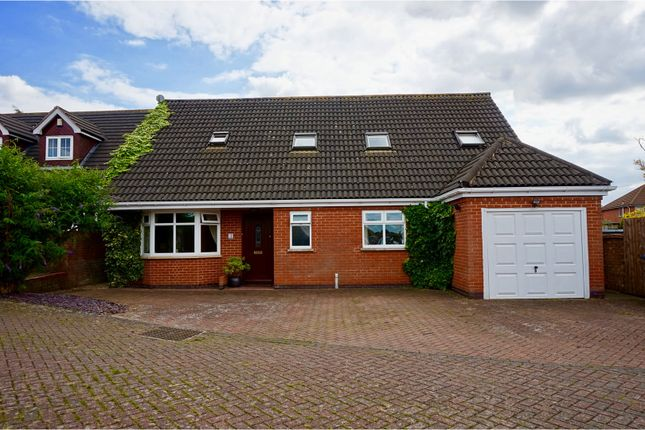 Thumbnail Detached house for sale in The Cuttings, Thurnby