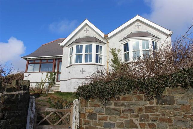 Thumbnail Detached bungalow for sale in The Rath, Milford Haven