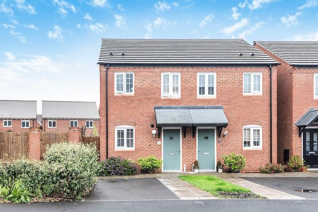 Thumbnail Semi-detached house for sale in Sutton Crescent, Barton-Under-Needwood, Staffordshire