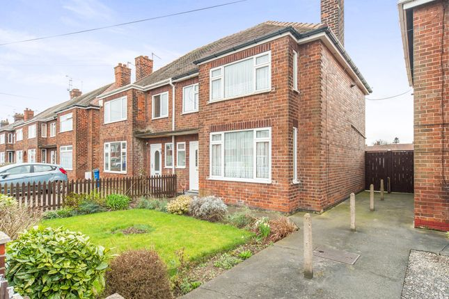 Thumbnail Semi-detached house for sale in Cottesmore Road, Hessle