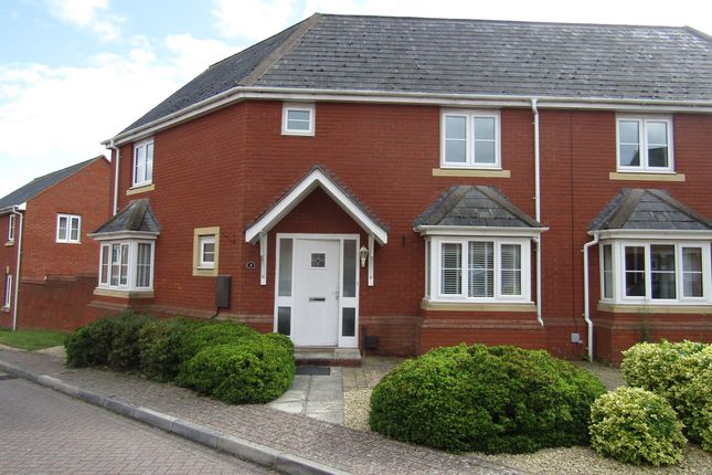 Thumbnail Semi-detached house to rent in Haddeo Drive, Exeter