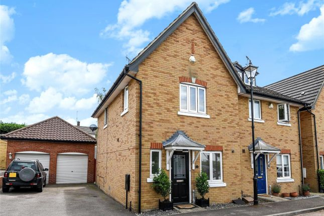 Thumbnail Semi-detached house for sale in Turners Court, Abridge, Romford, Essex