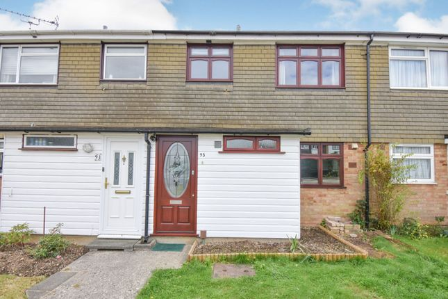 Thumbnail 3 bed terraced house for sale in Noakes Avenue, Chelmsford