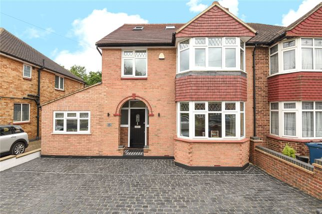 Thumbnail Semi-detached house for sale in Greystoke Avenue, Pinner, Middlesex