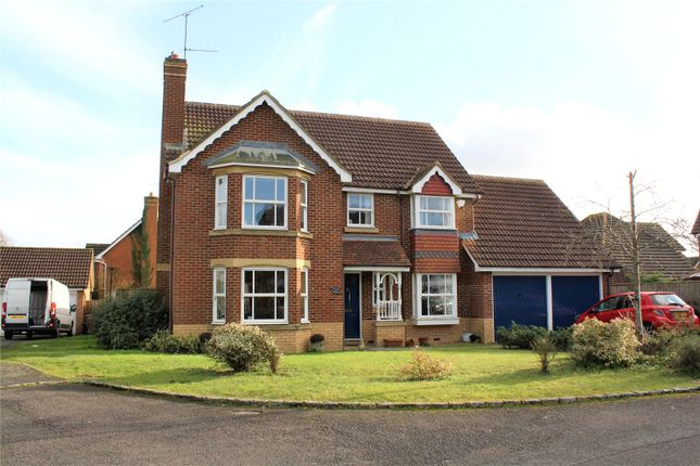 4 bed detached house for sale in Lindberg Way, Woodley, Reading, Berkshire
