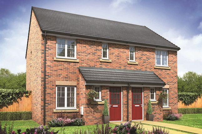 "Thumbnail Semi-detached house for sale in ""The Trafalgar"" at High Street, Twyning, Tewkesbury"