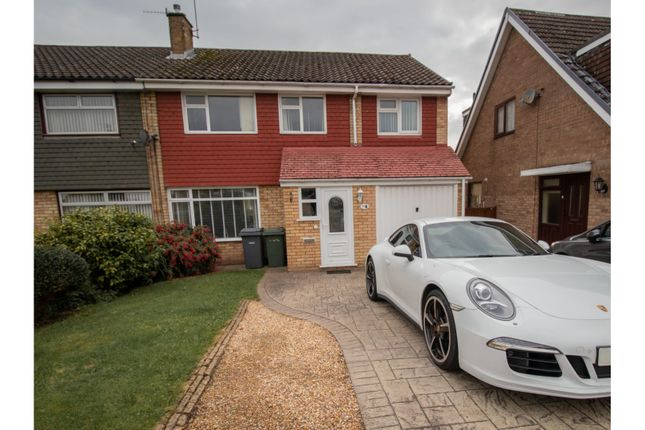 Thumbnail 4 bed semi-detached house to rent in Davenham Avenue, Prenton