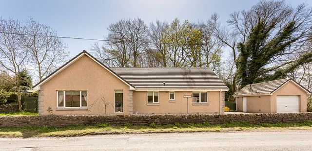Thumbnail Bungalow for sale in Clocksbriggs, Forfar, Angus
