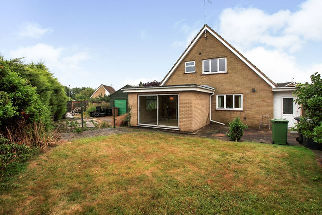 Thumbnail Detached house for sale in Apsley Way, Longthorpe, Peterborough