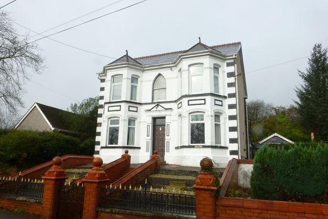 Thumbnail Detached house for sale in Nantyglyn Road, Glanamman, Ammanford, Carmarthenshire.