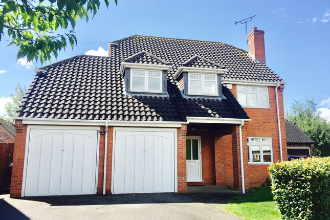 Thumbnail Detached house to rent in Deanery Crescent, Thurcaston, Leicester