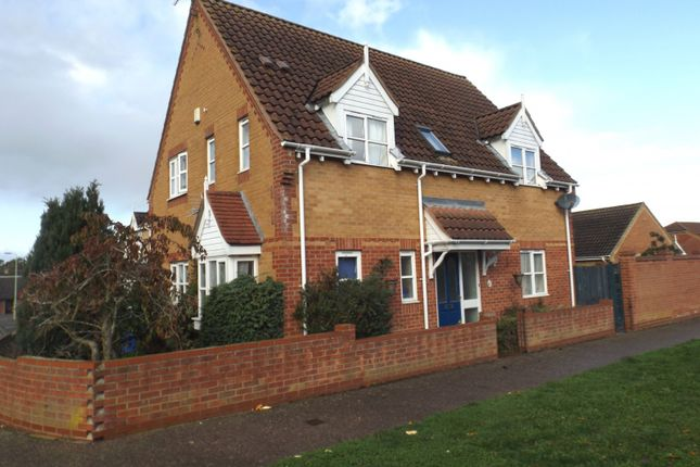 Thumbnail Detached house to rent in Mill Road, Beccles