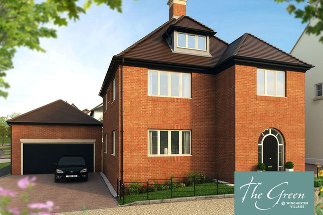 "Thumbnail Detached house for sale in ""The Crawford @ The Green"" at Romsey Road, Winchester"