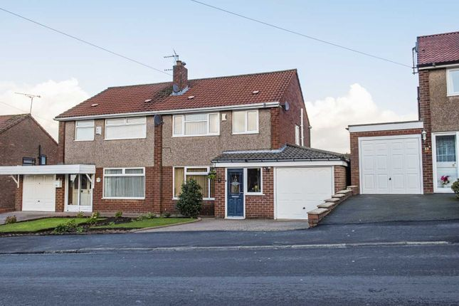 Thumbnail Semi-detached house for sale in Lord Derby Road, Gee Cross