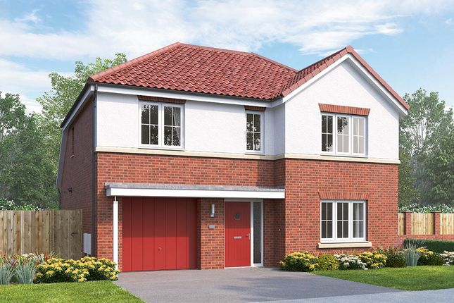 """Thumbnail Detached house for sale in """"The Overbury"""" at Northgate Lodge, Skinner Lane, Pontefract"""