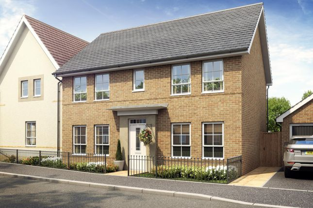 "Thumbnail Detached house for sale in ""Thornbury"" at Great Mead, Yeovil"